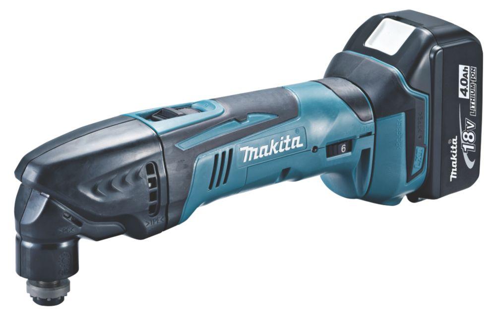 Makita DTM50RM1J1 18V 4.0Ah Li-Ion LXT  Cordless Multi-Tool