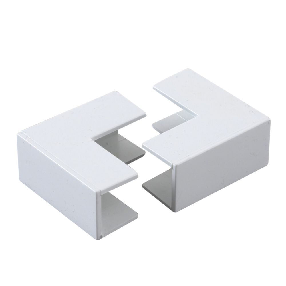 Tower  External Trunking Angle 16 x 16mm 2 Pack