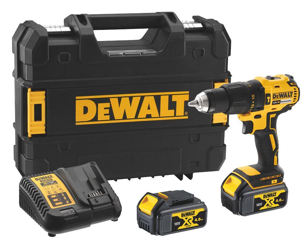 DeWalt DCD778M2T-SFGB 18V 4.0Ah Li-Ion XR Brushless Cordless Combi Drill