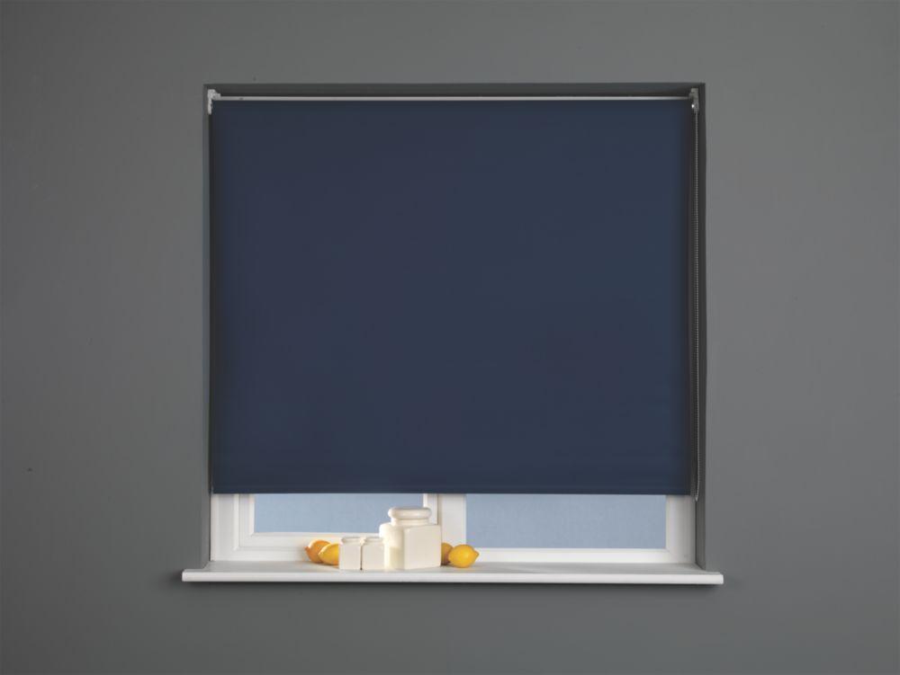 Roller Blackout Blind Navy 900 x 1700mm Drop