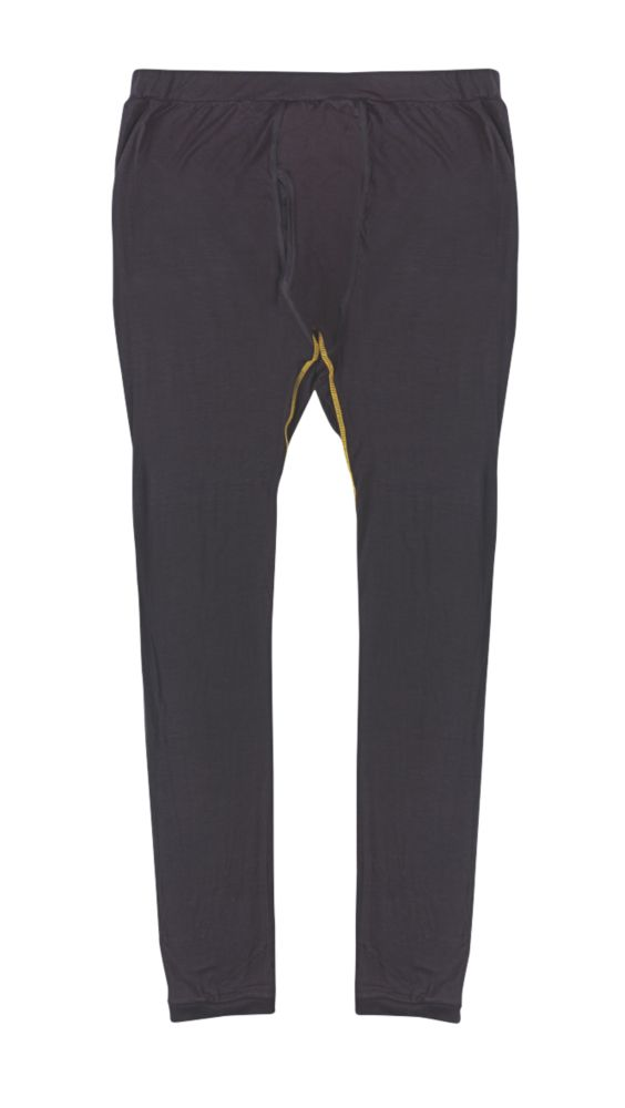 "Site  Base Layer Trousers Black Medium 34"" W 32"" L"