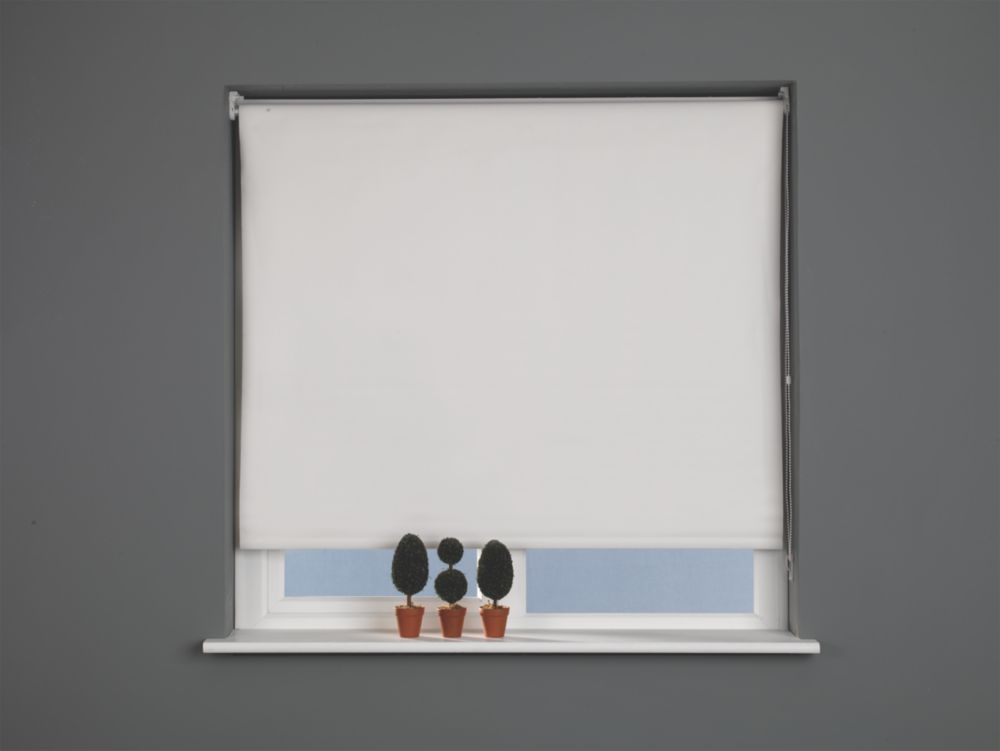 Roller Blackout Blind Cream 1200 x 1700mm Drop