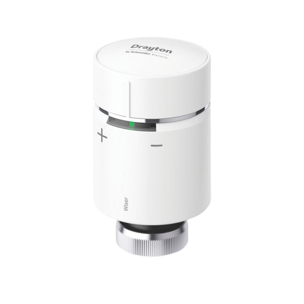 Drayton   Wiser Radiator Thermostat White