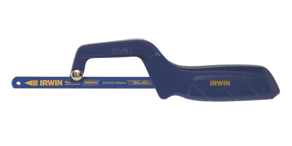 """Irwin  24tpi Metal/Plastic Mini Hacksaw 10"""" (250mm)"""