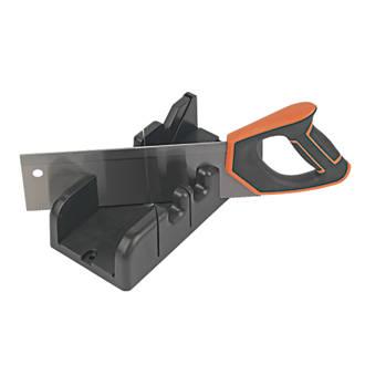 "Magnusson  12tpi Wood Mitre Box & Saw 12"" (300mm)"