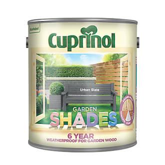 Cuprinol Garden Shades Woodstain Matt Urban Slate 2.5Ltr