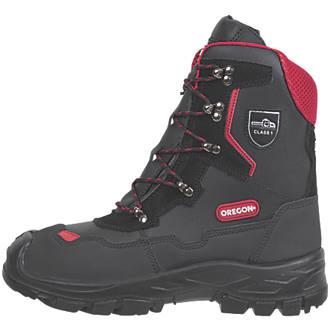 Oregon Yukon  Safety Chainsaw Boots Black Size 9
