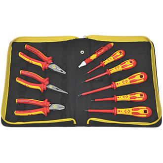 C.K  Phillips  VDE Pliers & Screwdriver Set 9 Pieces