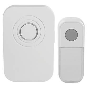 Blyss  Plug-In Wireless Plug-In Door Chime Kit White