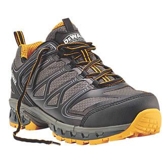 DeWalt Garrison   Safety Trainers Charcoal Grey / Yellow Size 12