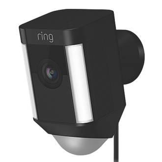 Ring Spotlight Camera PIR Black