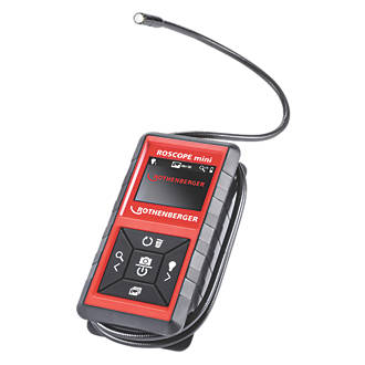 """Rothenberger Roscope Mini Hand-Held Inspection Camera With 2½"""" Colour Screen"""