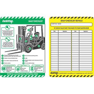 Scafftag  Forklift Inserts 10 Pack