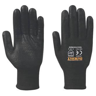 DeWalt DPG800L EU Touchscreen Gloves Black Large