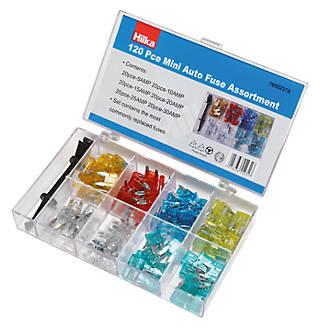 Hilka Pro-Craft Mini Blade Fuses 120 Pieces