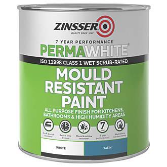 Zinsser Self-Priming Paint Satin White 1Ltr
