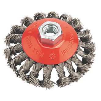 Twisted Knot Wire Brush 100mm