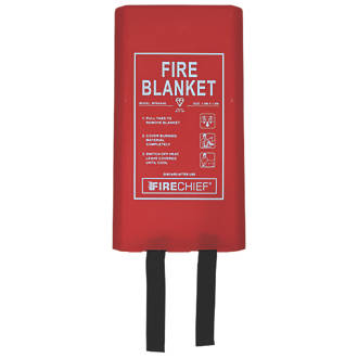 Firechief  Fire Blanket with Rigid Case 1.8 x 1.8m