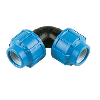 FloPlast 492015 MDPE Elbow 25mm x 25mm