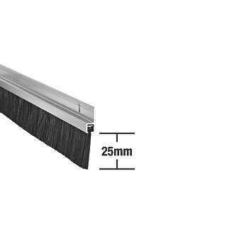Stormguard Heavy Duty Brush Seal Aluminium 0.91m