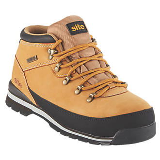 Site Meteorite   Safety Boots Tan Size 7