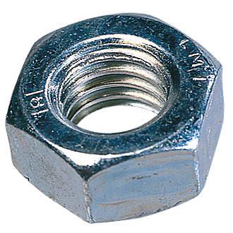 Easyfix BZP Steel Hex Nuts M6 1000 Pack