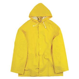 "Endurance Rainmaster 2-Piece Waterproof Rain Suit Yellow X Large 46-48"" Chest"