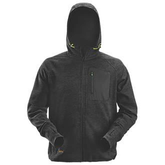 "Snickers FlexiWork Fleece Hoodie Black Medium 39"" Chest"