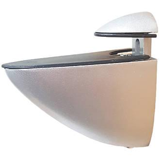 Select Adjustable Shelf Bracket Silver 72 x 65mm