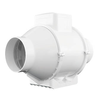 Xpelair XIMX100+T 25W In-Line Mixed Flow Extractor Fan
