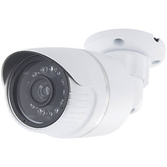 Chacon White Indoor & Outdoor Dummy Camera with LED