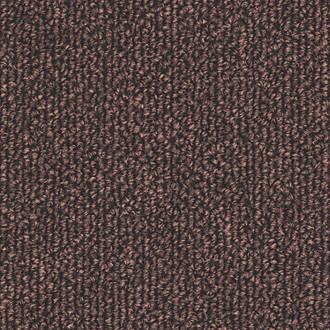 Distinctive Flooring Trident Carpet Tiles Dark Brown 20 Pcs