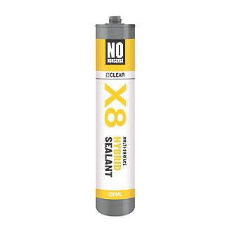 No Nonsense X8 Hybrid Sealant & Adhesive Clear 290ml