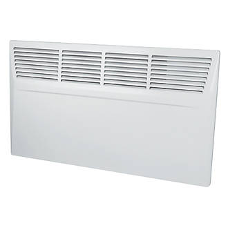 Manrose Wall-Mounted Panel Heater White 1500W