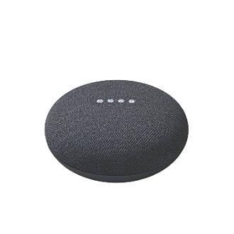 Google Nest Mini Voice Assistant Charcoal
