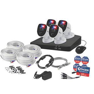 Swann SWDVK-856804-RL 8-Channel 4K CCTV DVR Kit & 4 Cameras