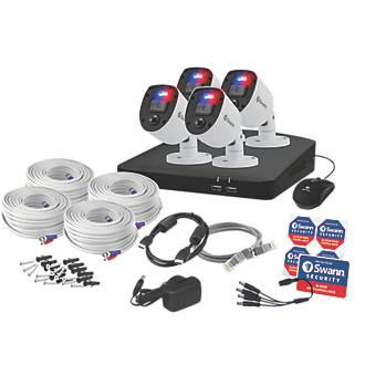 Swann SWDVK-84680SD4-EU 8-Channel DVR CCTV Kit & 4 Cameras