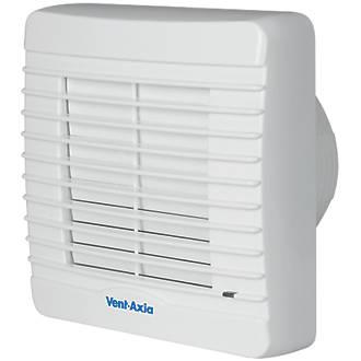 Vent-Axia VA100XHT 21W Bathroom Extractor Fan with Humidistat & Timer White  240V
