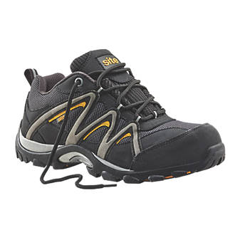 Site Mercury   Safety Trainers Black Size 9