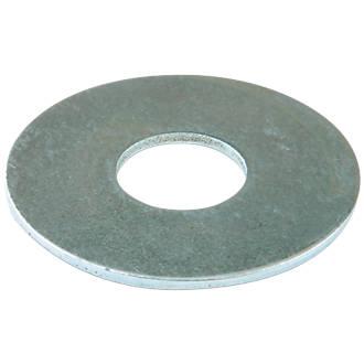 Easyfix Steel Large Flat Washers M4 x 1mm 100 Pack