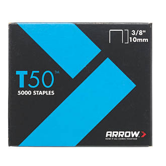 Arrow Heavy Duty Staples Galvanised 8 x 10mm 5000 Pack