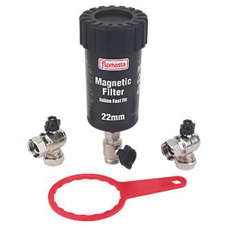 Flomasta  Magnetic Central Heating Filter 22mm