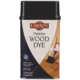 Liberon Water Based Interior Pallette Wood Dye Dark Oak 250ml
