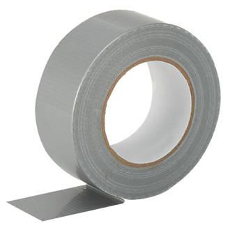 Cloth Tape 27 Mesh Silver 50m x 50mm