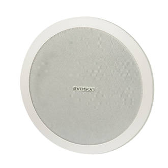 "Evoson  Ceiling Speaker White 10.5"" 50W RMS"