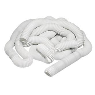 PVC Flexible Ducting Hose White 45m x 100mm