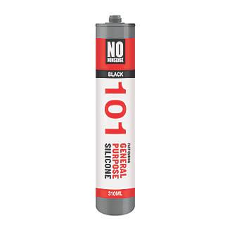No Nonsense General Purpose Silicone Sealant Black 310ml