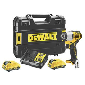 DeWalt DCF902D2-GB 12V 2.0Ah Li-Ion XR Brushless Cordless Impact Wrench