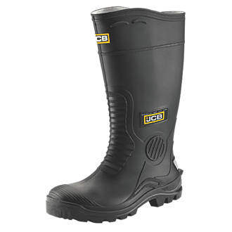 JCB Hydromaster   Safety Wellies Black Size 12