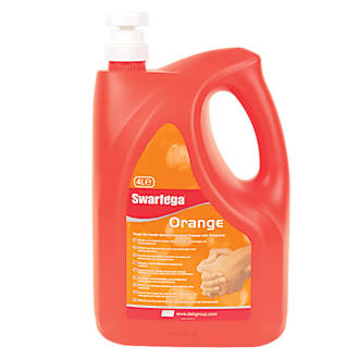 Swarfega Orange Hand Cleaner Pump Pack 4Ltr
